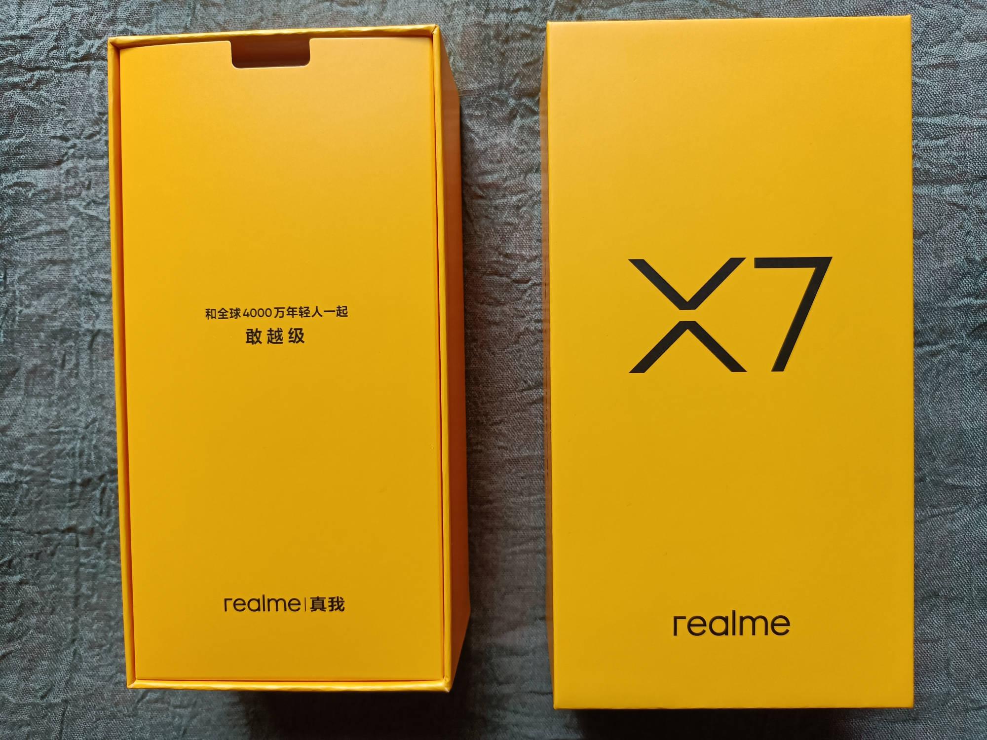 原创            不止轻薄越级 realme真我X7双模5G新机开箱上手简评