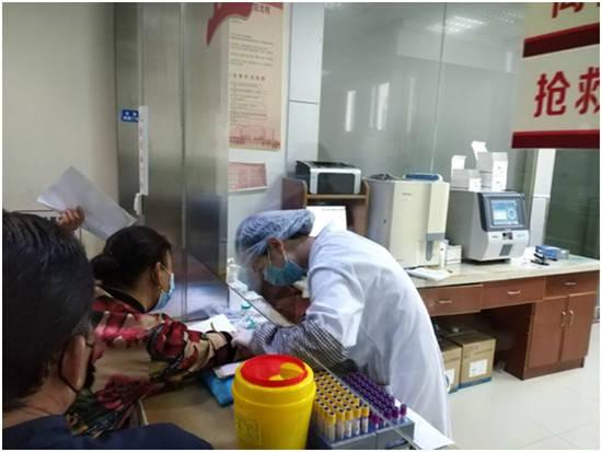 海安市城東鎮中心衛生院開展60歲以上老年人健康體檢工作