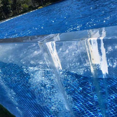 亚克力泳池生产厂家-板材裂开