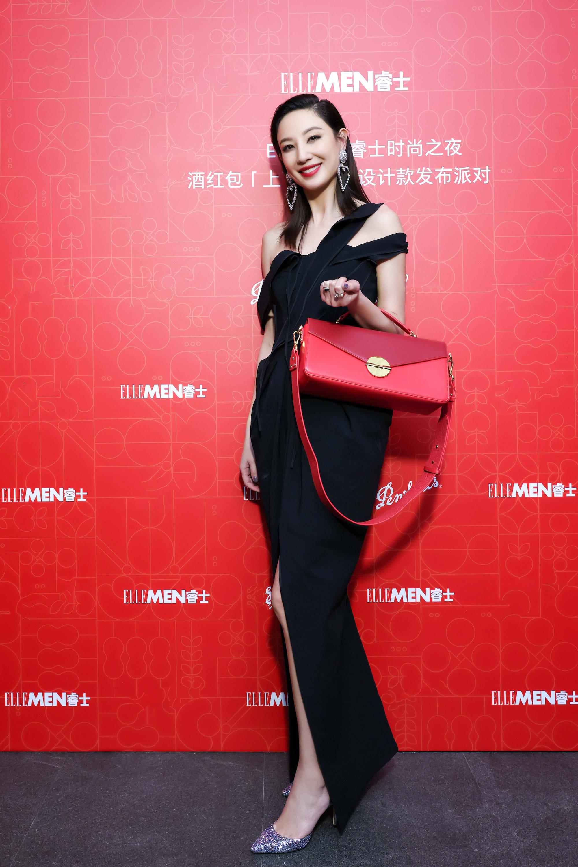 郑希怡出席时尚之夜演绎别样不凡优雅