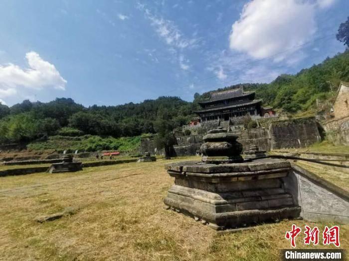武当山五龙宫遗址考古发掘开工仪式8日举行