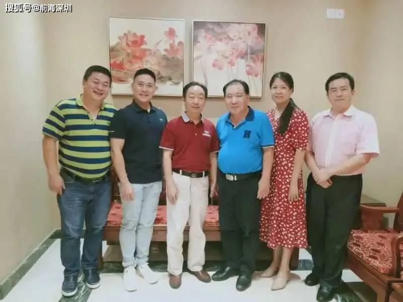 前海蔚蓝董事长陈光平会见了深圳市中西