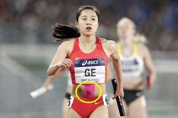 事实上,这是她的一个小秘密 中国女飞人