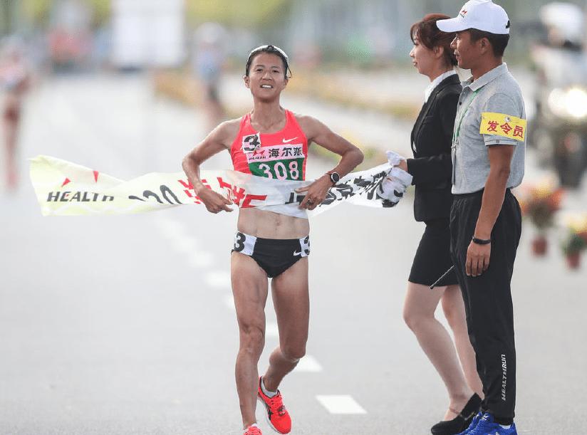 全锦赛刘虹女子20KM折桂 王凯华男子组夺冠陈定第3