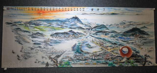 无锡南方泉的画家王刚良,用五年时间的耕耘,画出了壮丽的画卷太湖十八景