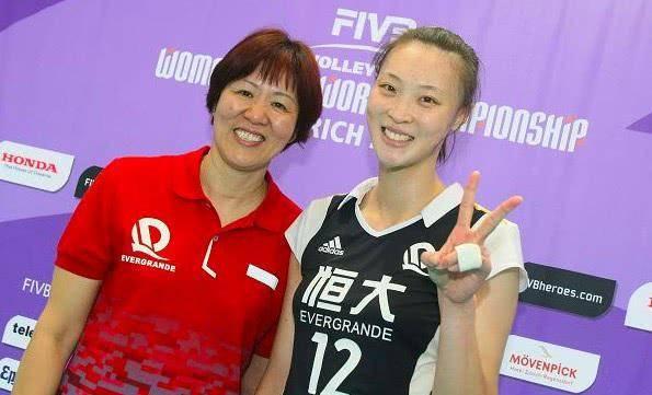 排球第一女神惠若琪近况:身材脸上更圆润,与丈夫生活幸福!