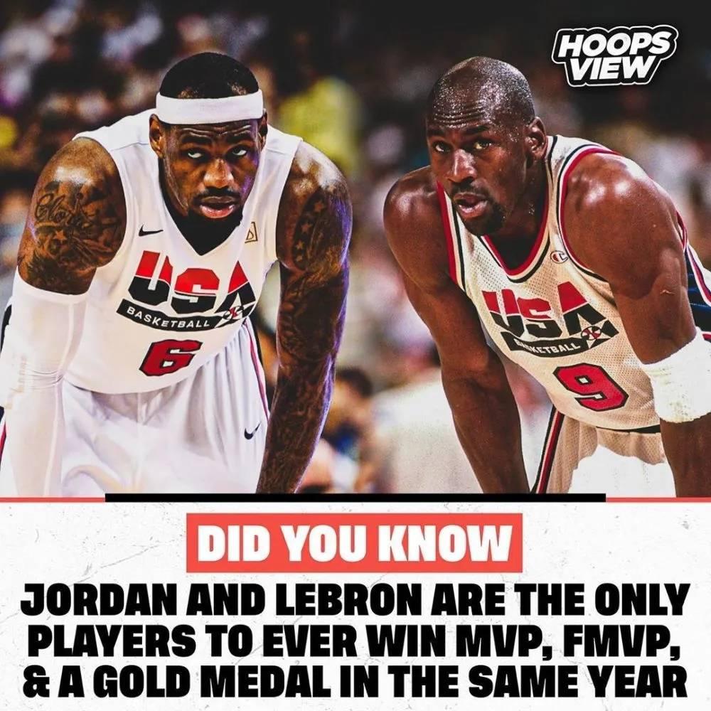 押注世界杯:NBA历史上的这一成就只有詹姆斯和乔丹取得
