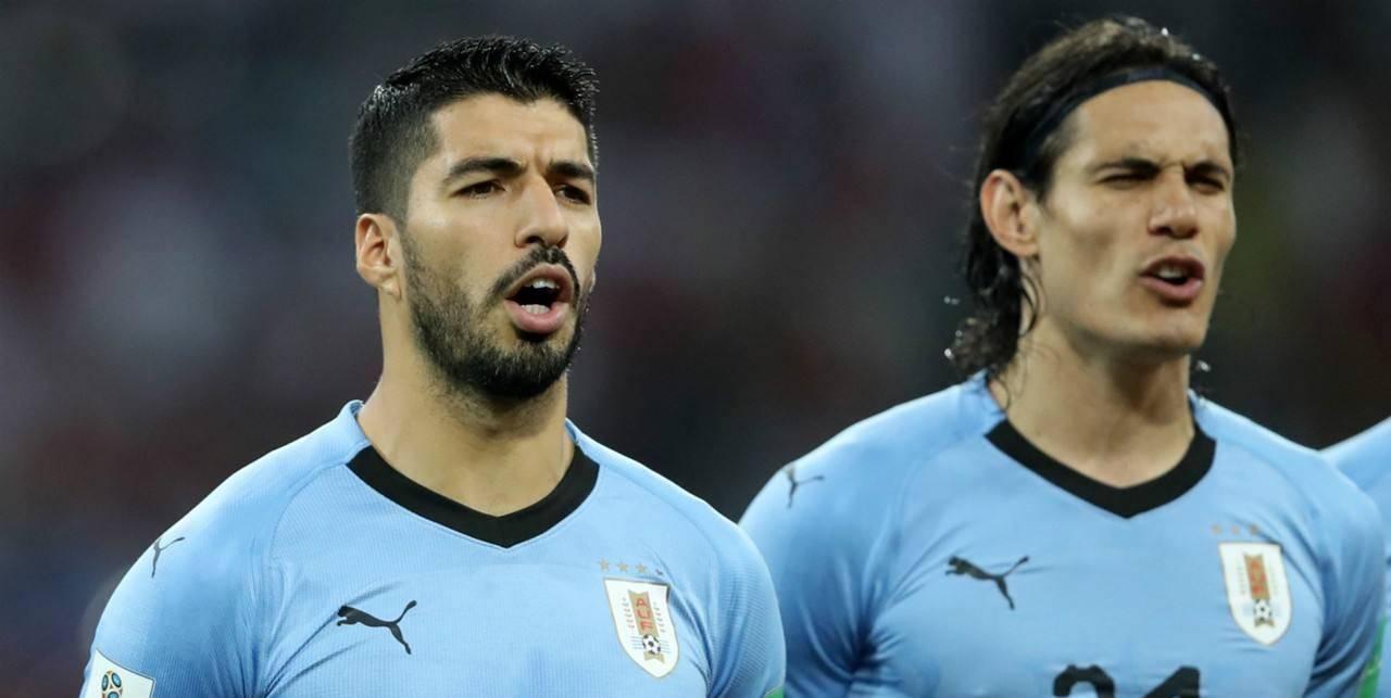 乌拉圭锋线拾取完成,两座塔楼闪耀伊比利亚,