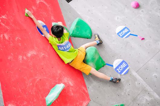 2020年广西青少年攀岩锦标赛在南宁市马山县隆重举行