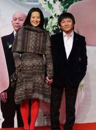 她出道23年零绯闻,是陈道明朱颜良知,嫁王菲初恋恩爱至今(图10)