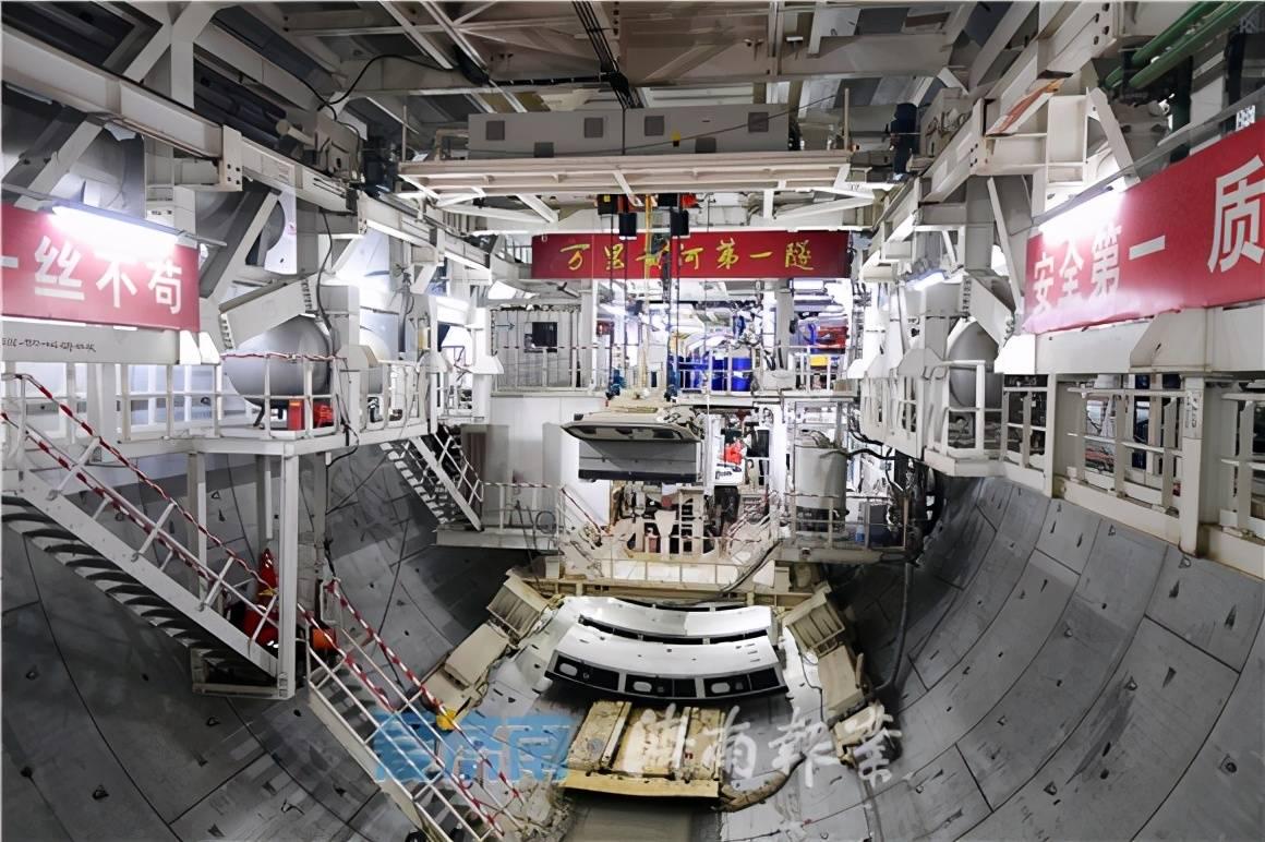 快乐12开奖走势图:《万里黄河第一隧道》预计2021年春节前全线贯通