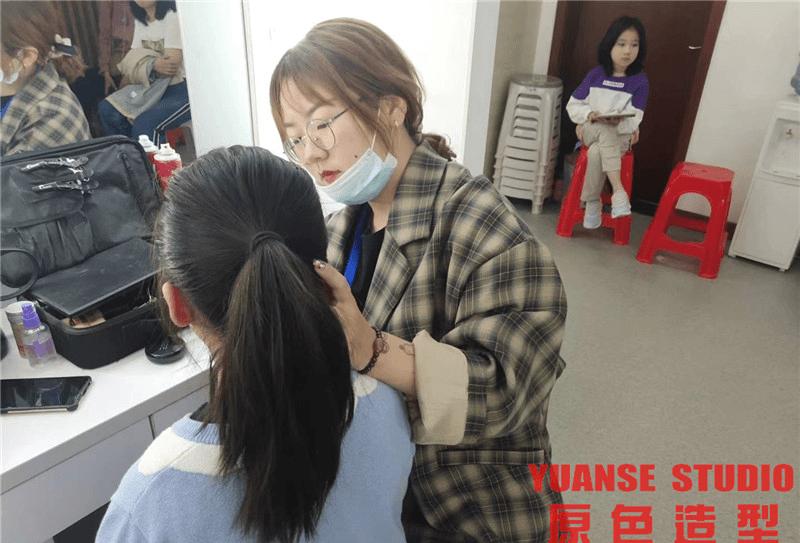 【化妆实践】10.8《黄海森林奇遇记》舞台剧表演day2
