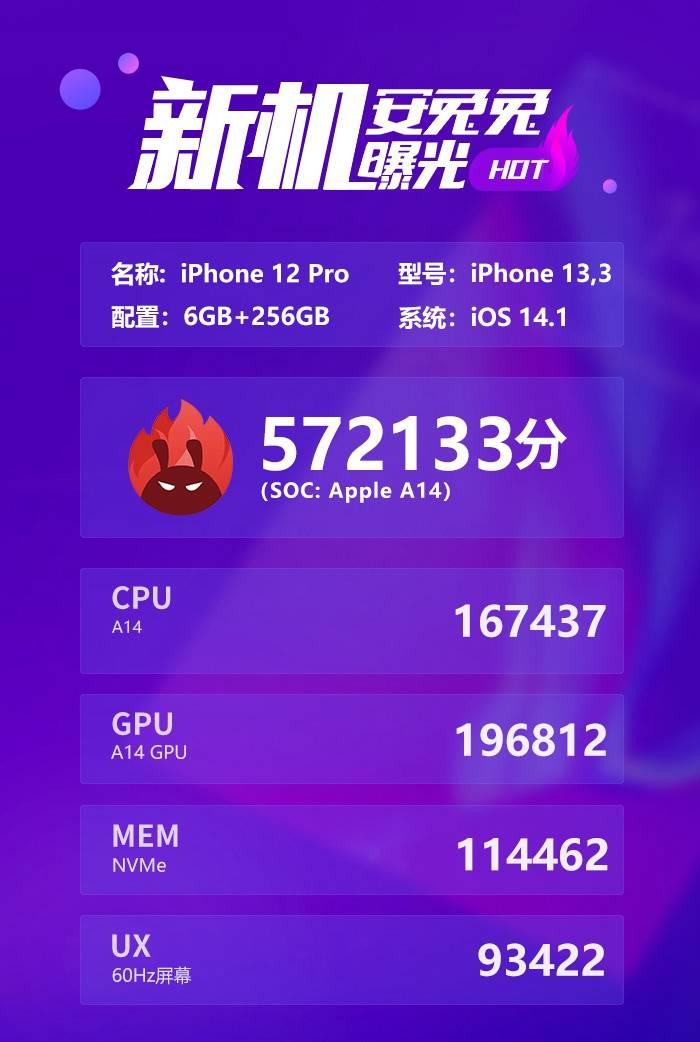 恒达官网5nm芯片的跑分对比,苹果A14挤牙膏?麒麟和三星成功突围 (图2)
