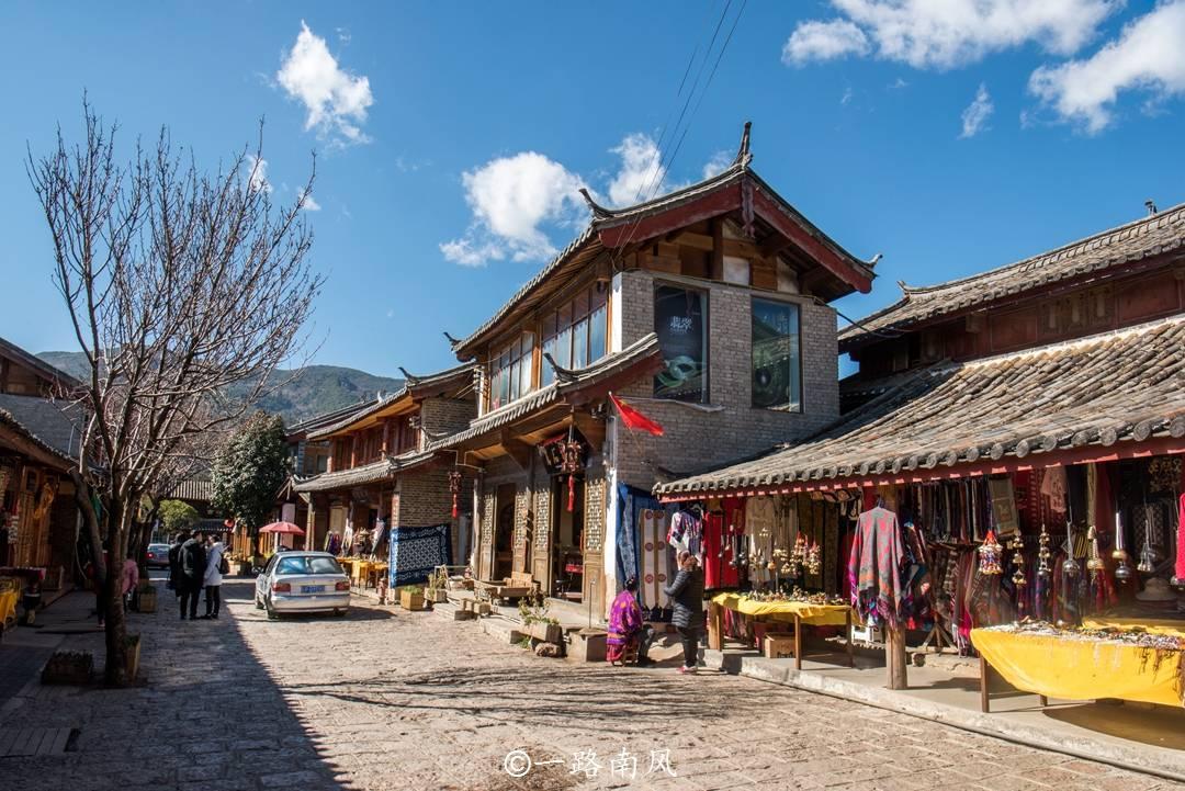 原创             云南丽江有个冷门古镇,比大研束河更悠久,不远处就是玉龙雪山