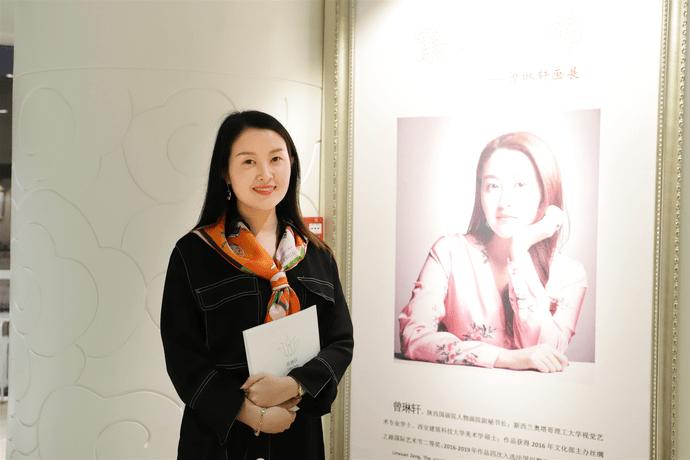 """""""繁花似锦——曾琳轩个人画展""""亮相文化艺术节"""