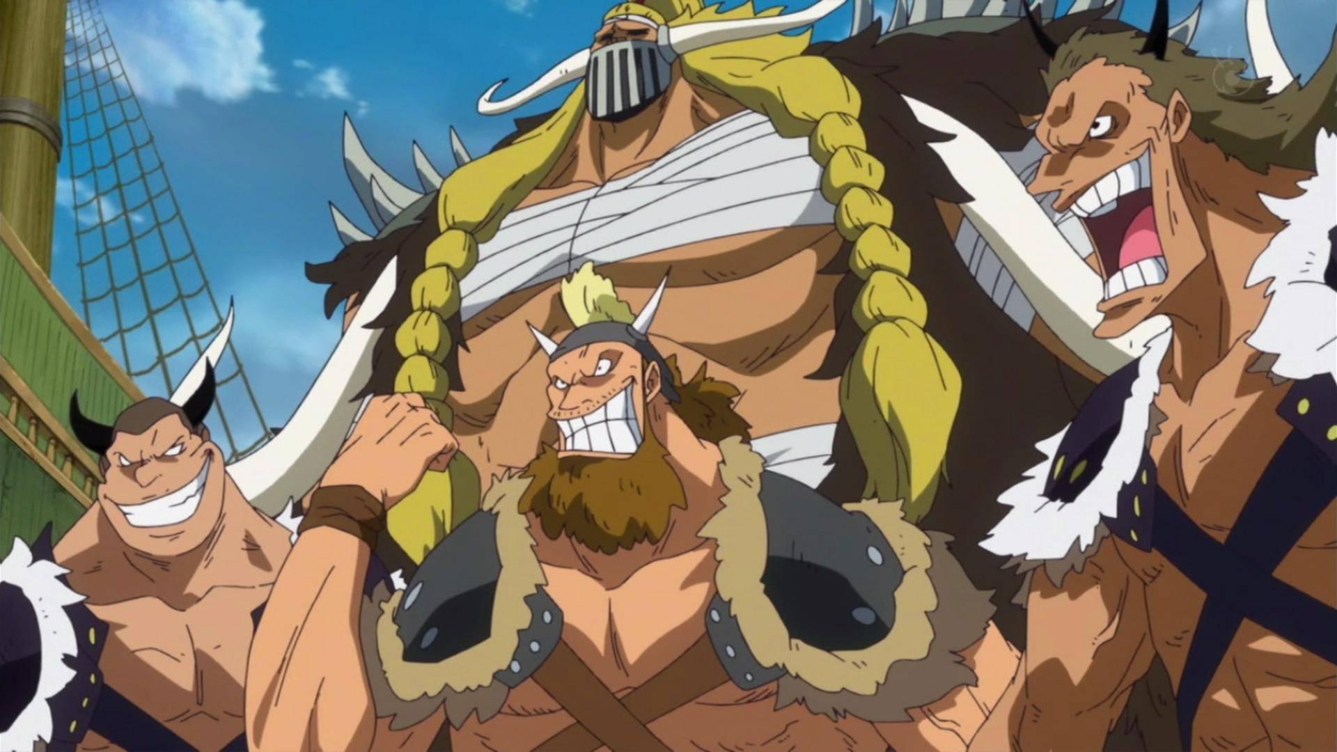 海贼王:挨打王杰克被毛皮族打倒,烬和奎因为何不去帮凯多?