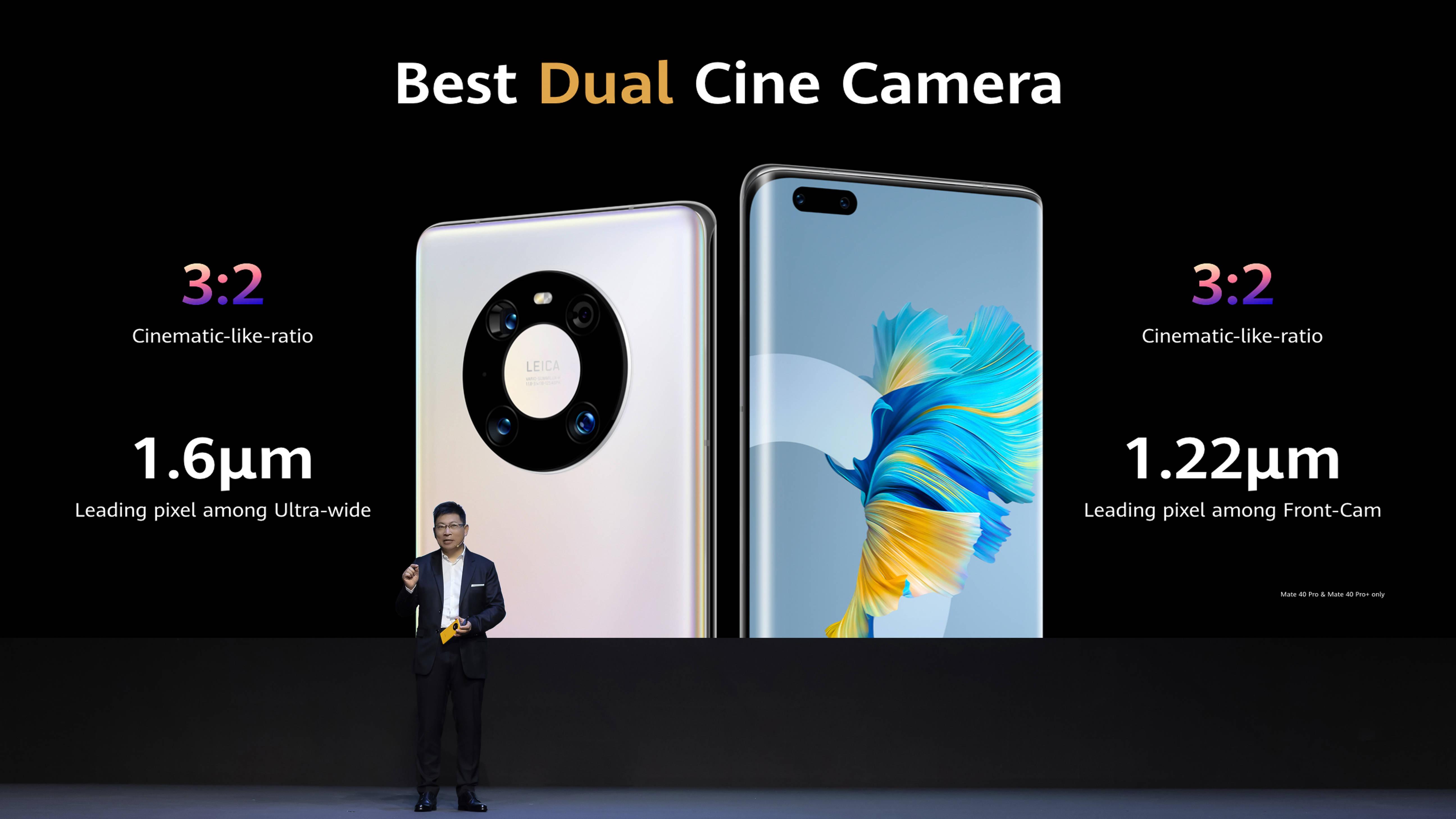 华为Mate 40 Pro配备6.76英寸OLED曲面屏,摄像头迎来重大升级