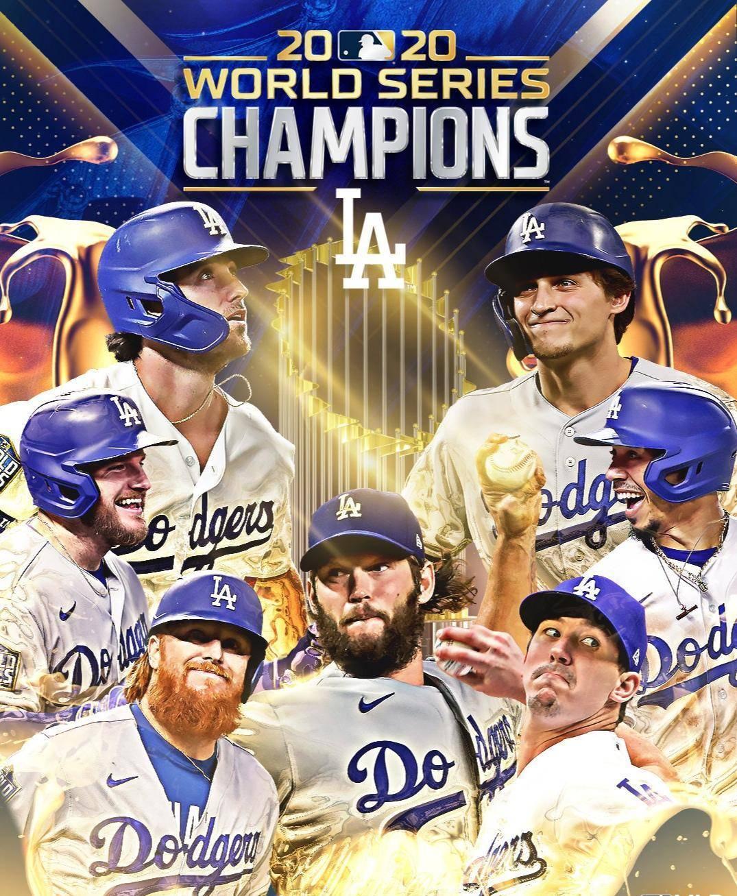 洛杉矶成双冠之城!道奇问鼎MLB世界大赛冠军 湖人官推发文祝贺