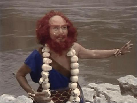 在流沙河,卷帘大将的目的很明确,就是要捉观音吃金蝉子!为啥?