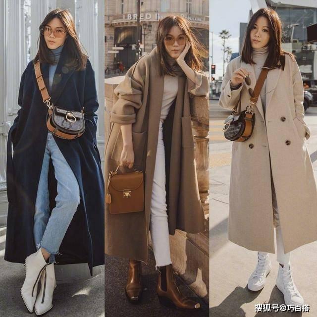原创             大衣怎么穿才好看?24套搭配示范,上身优雅显瘦品味高级