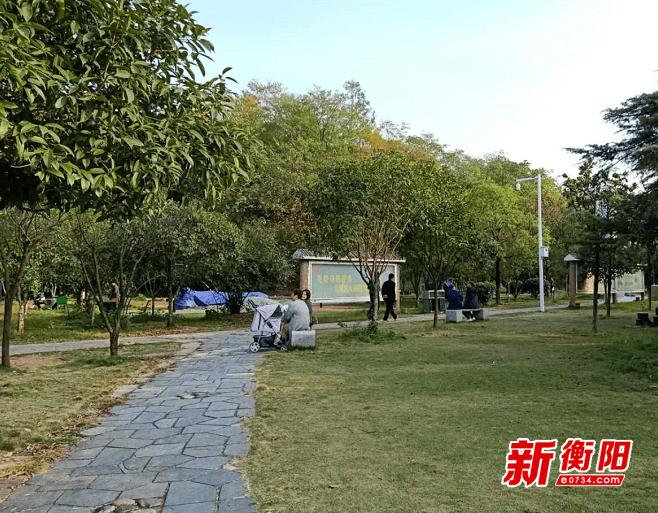 文明旅游在雁城:平湖公园景美人更美 市民文明出行成风尚