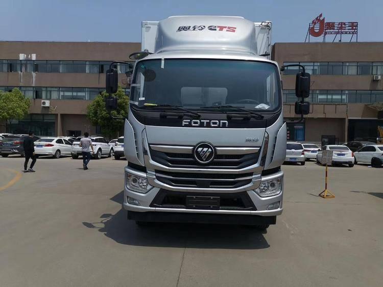福田奥林CTS配置参数6.8 m冷藏车制造商价格