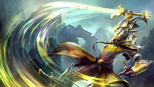 英雄联盟手游单挑最强英雄 无极大师易剑圣的单挑强度