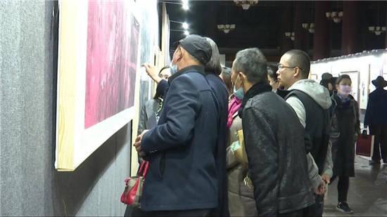 《从历史走向未来》―纪念紫禁城建成600周年中国画大展在紫禁城太庙隆重开幕