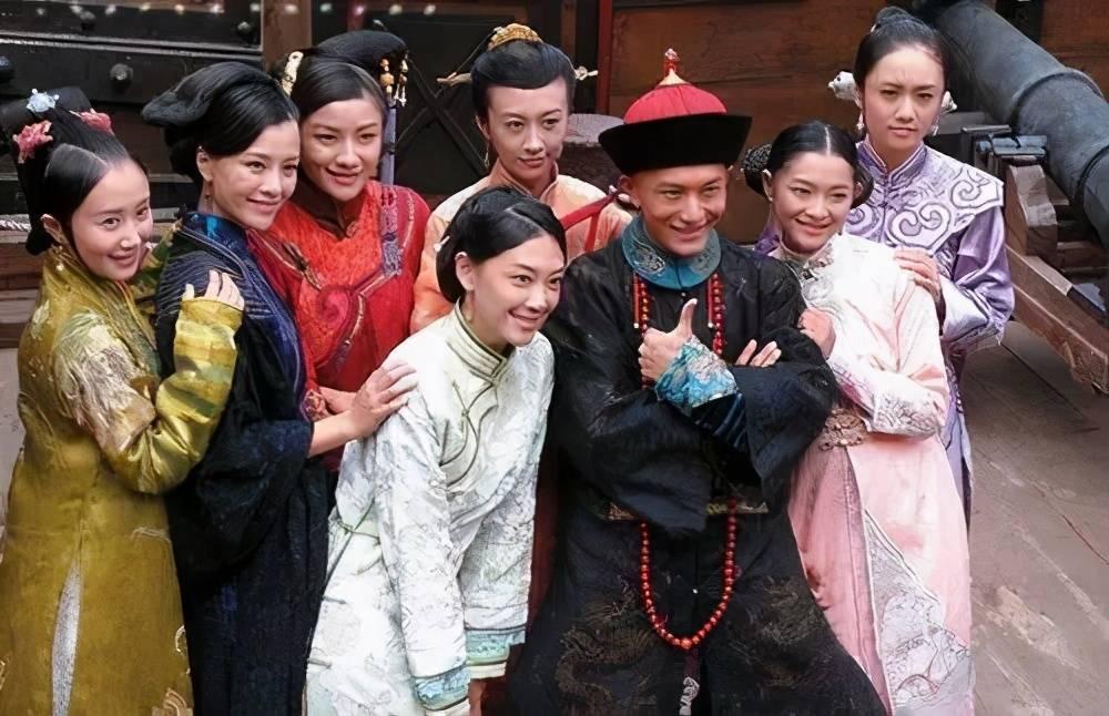 新《鹿鼎记》七个老婆创历届颜值最低,毫无辨识度