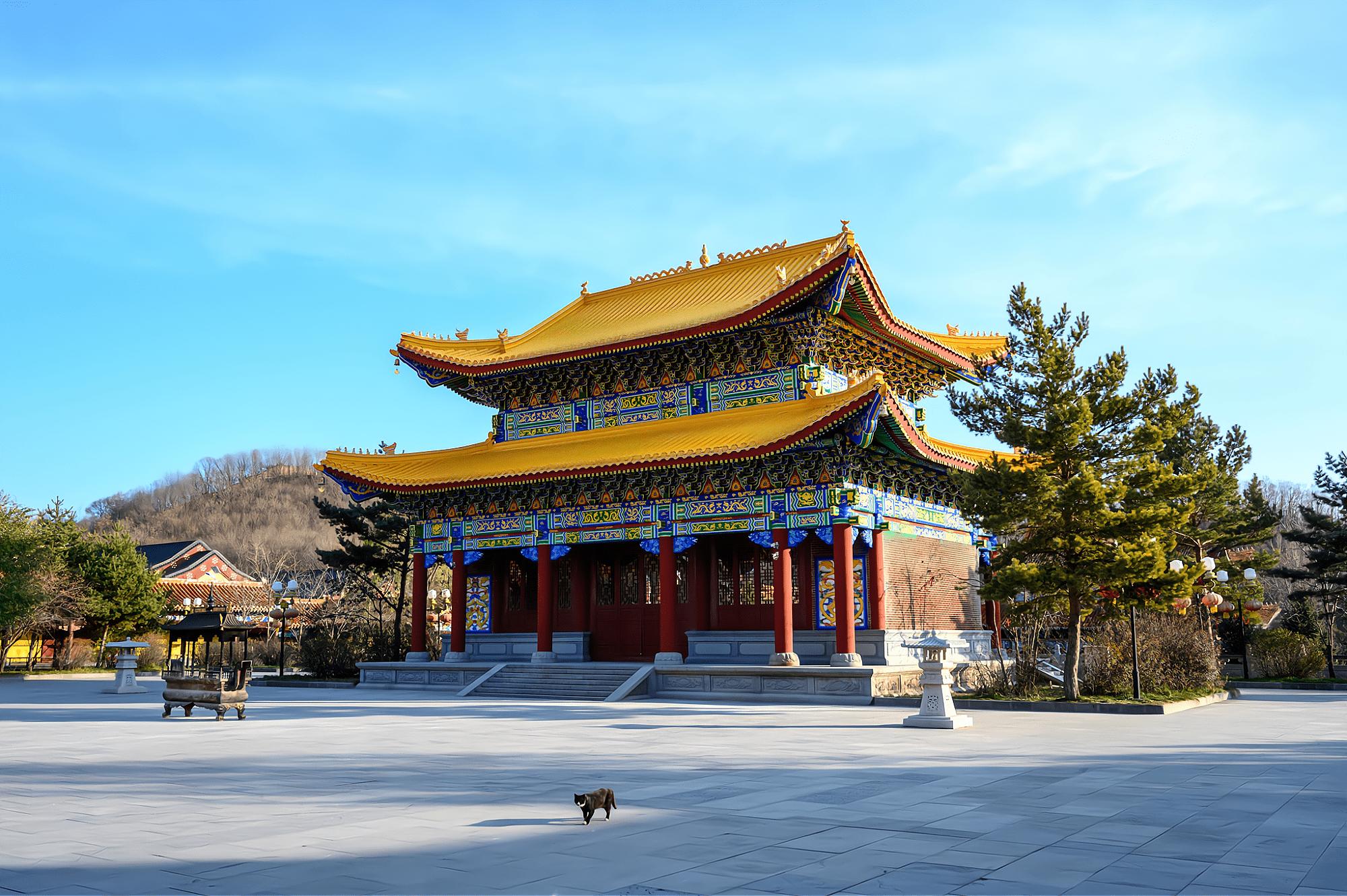 原创             敦化正觉寺,少有人知的东北古刹,却是世界上最大的佛教尼众道场