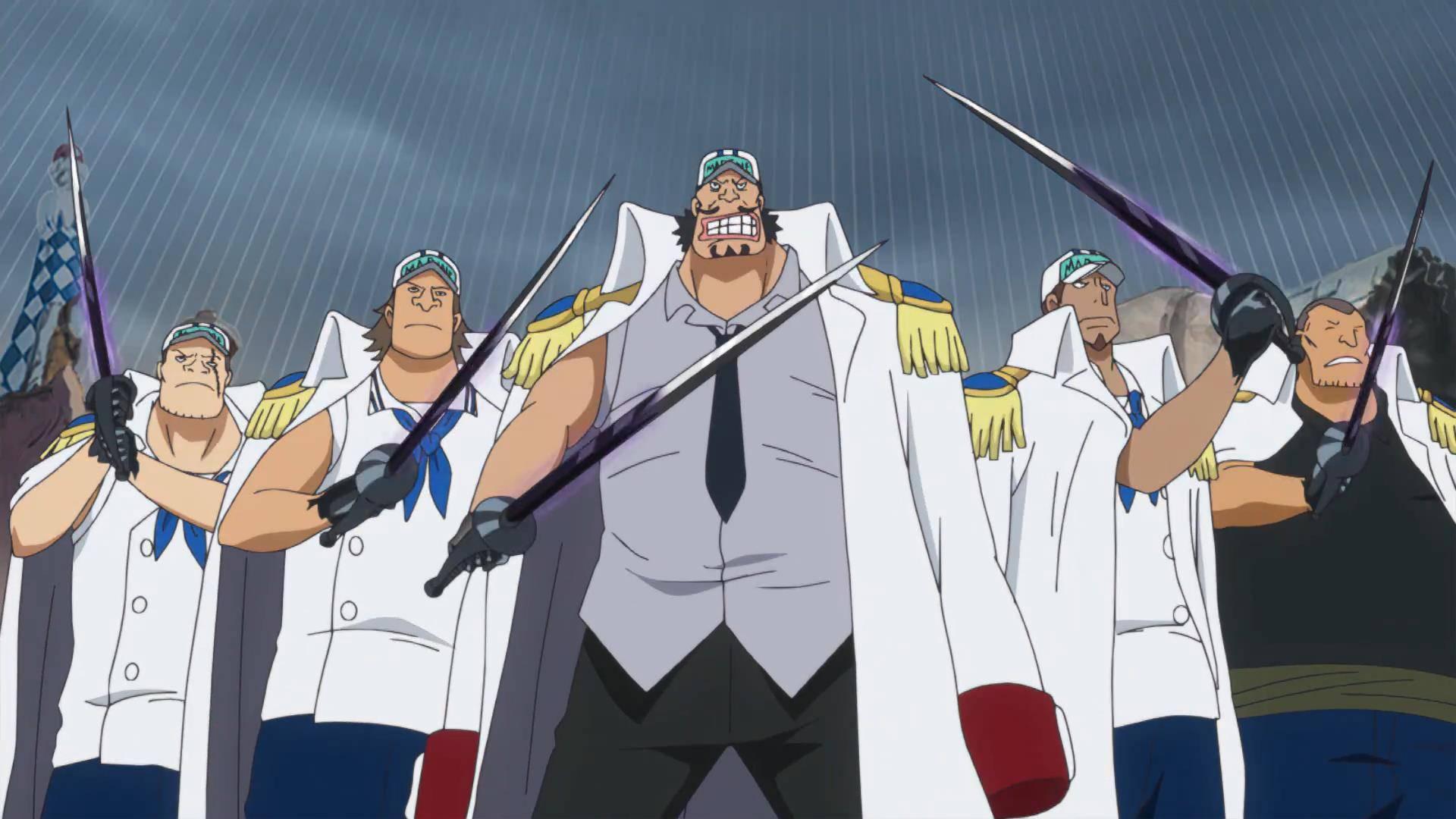 海贼王:为什么海军没有特战部队?原因有三点,海军就不需要