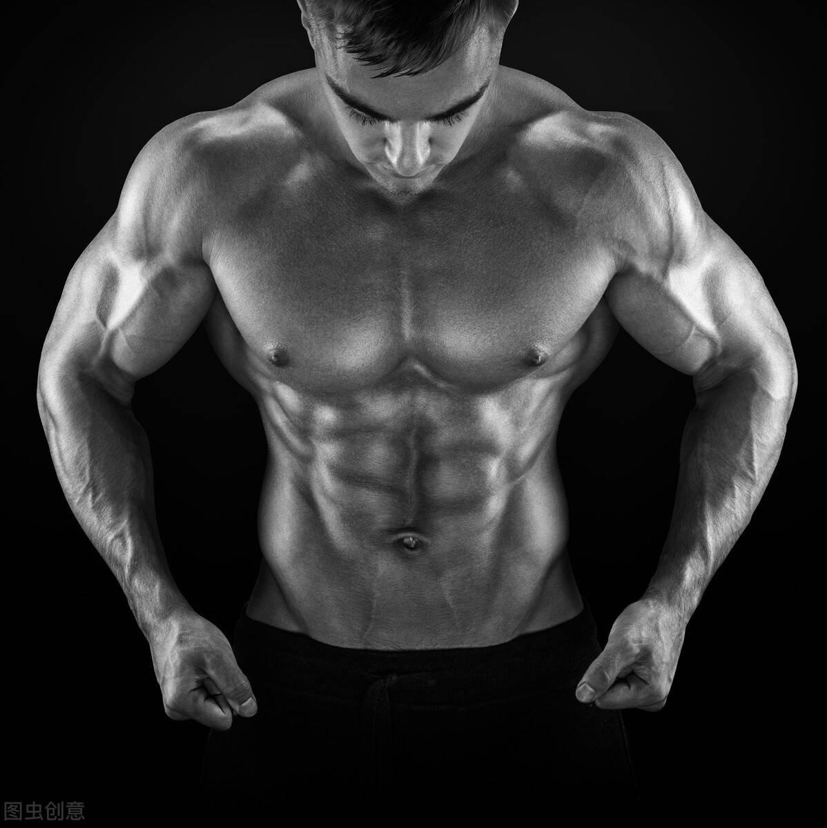 先减脂再虐腹!5个练腹动作,虐出男人的六块腹肌!