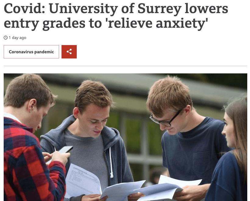 原创             重磅曝光英国名校本科录取降分了!申请研究生也能抄底牛津剑桥?
