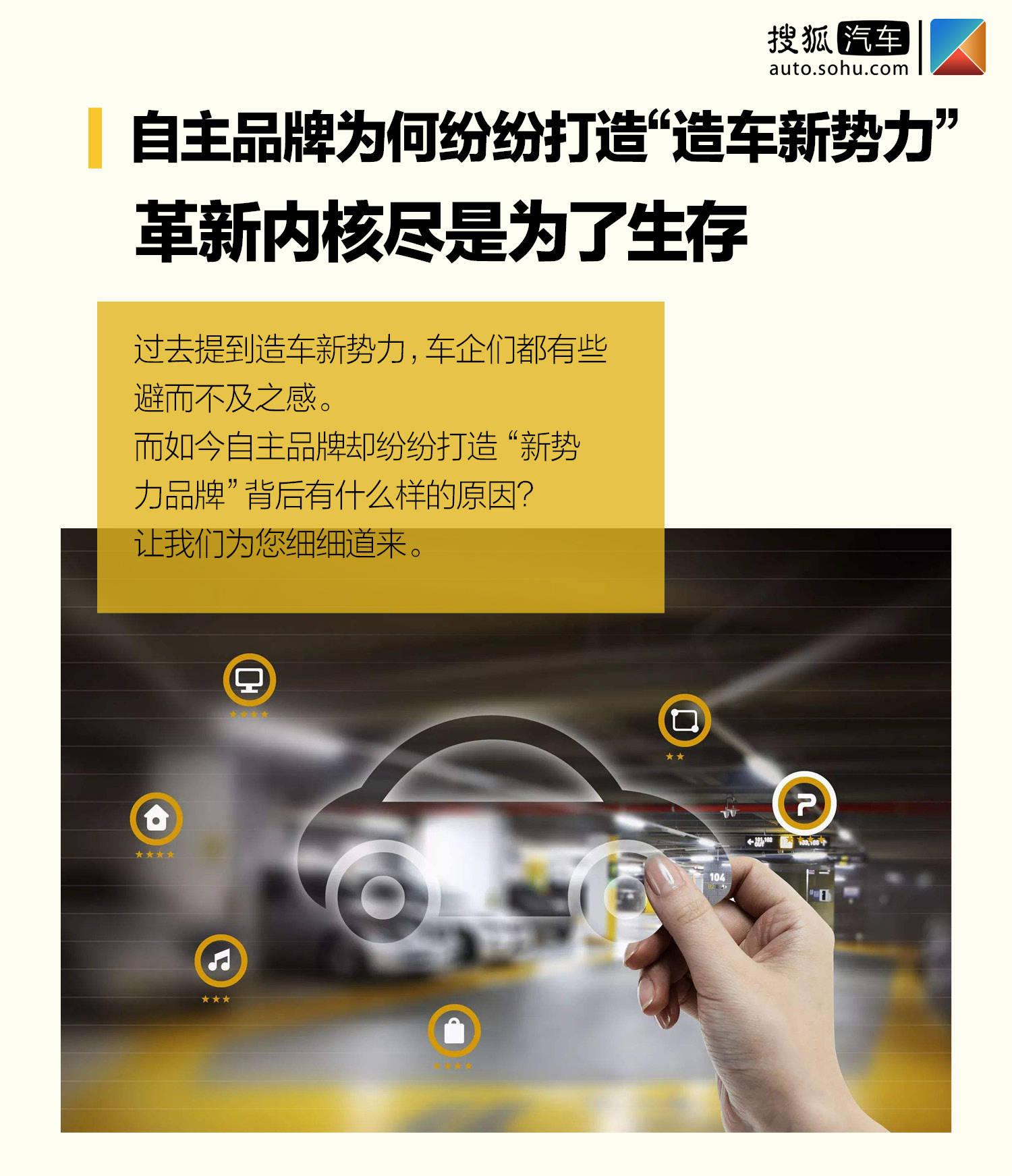 """原创自主品牌为什么要打造""""造车新势力""""?创新核心就是生存"""