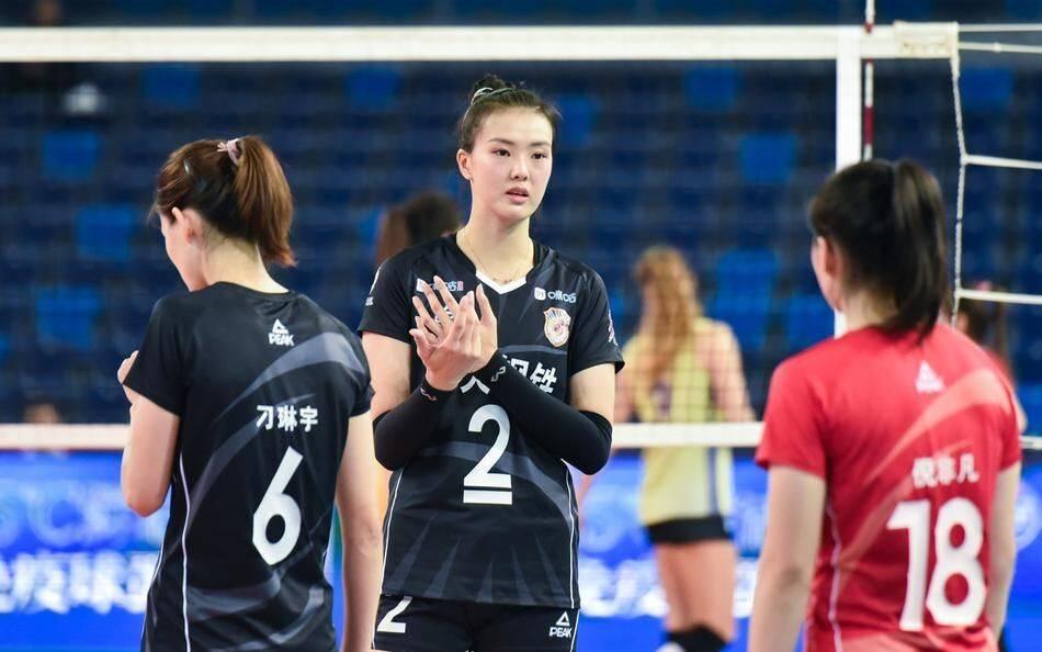 朱婷21分天津女排3