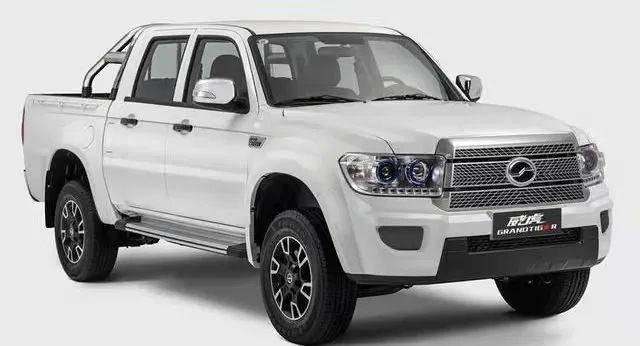 原配2.5T柴油机,最低7.98万,中星威虎皮卡上市