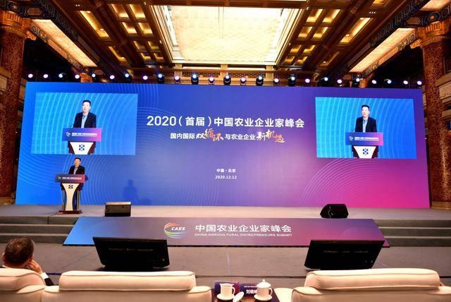 中华保险团体党委书记、董事长徐斌出席2020中国农业企业家峰会并揭晓主题演讲【亚搏手机版