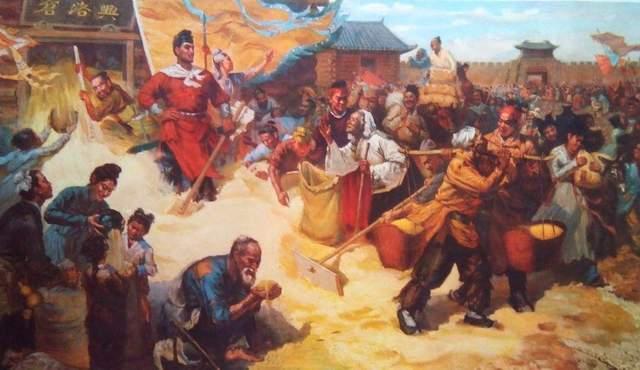 十八路反王大起义,天命最终归父子齐上阵的唐王李渊