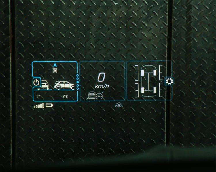 20辆奔驰GLE350改装平视显示器,打造具有科技感的数字驾驶舱