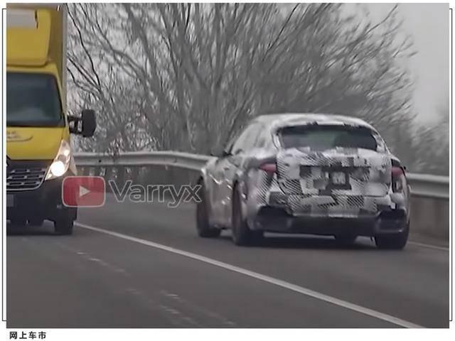法拉利最新SUV测试谍照!V6混合动力发动机将于明年亮相