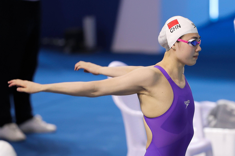 张雨霏蝶泳两天各夺一金 100米仰泳傅园慧第三