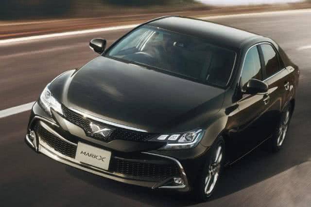 原装新一代丰田锐志来了,V6 8AT,惊艳帅气,堪比雷克萨斯ES