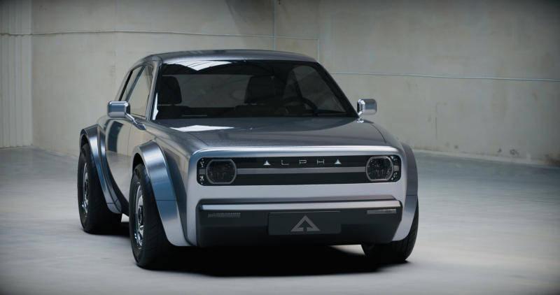原始模块化不是大汽车公司做出新的力量阿尔法ACE亮相