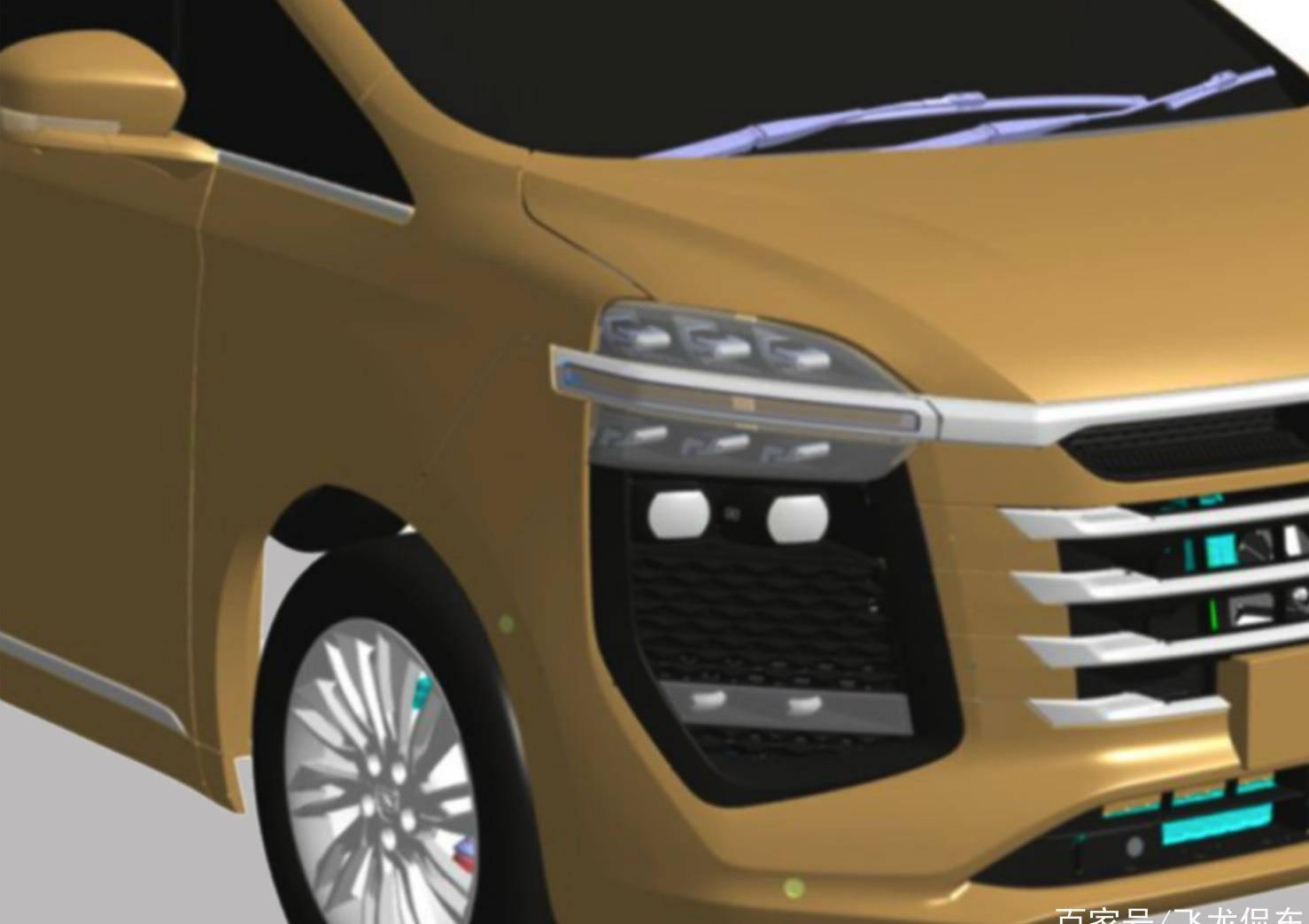 另一辆原装良心车,5米长,配有2.0T发动机,还配有双天窗和双滑动门
