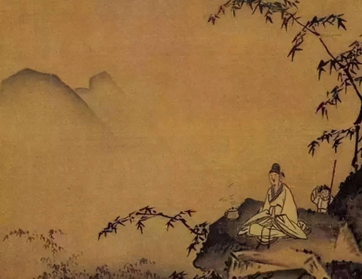 读睡诗歌|夕阳下山,天空残留的几缕白不过螳臂当车
