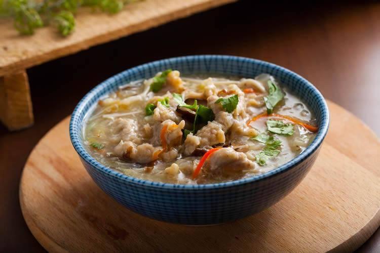 冬季减肥餐鸡汤的制作方法