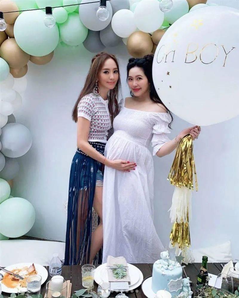 40亿台湾名媛廖晓乔挺大肚上杂志封面,曾是不婚主义,自曝盼了六年才怀孕  第8张