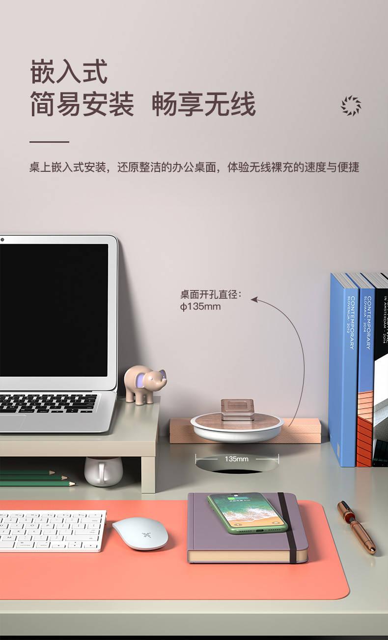 无线充电家具的专用方案——家具远距离隔空无线充电器
