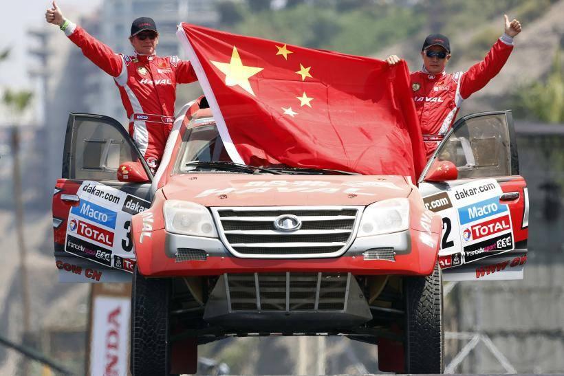 北京越野对比哈弗达喀尔拉力赛车,哈弗竟多年套壳德国赛车