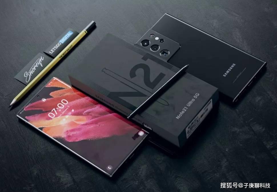三星Galaxy Note 21渲染图曝光,外观与S21很相似,手机好但很贵